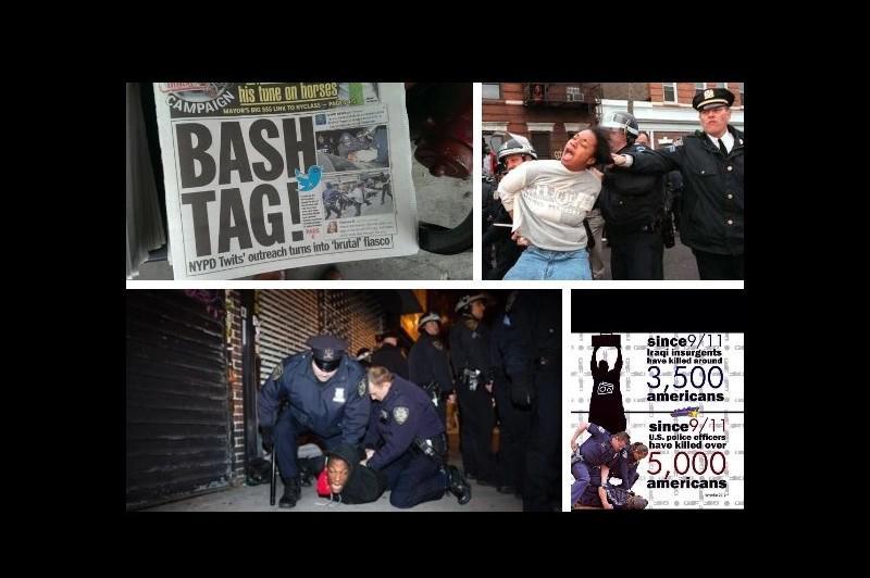 Nepodařená kampaň newyorské policie na Twitteru