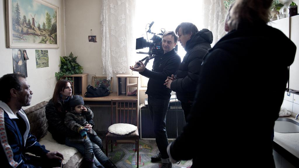 Natáčení filmu Cesta ven