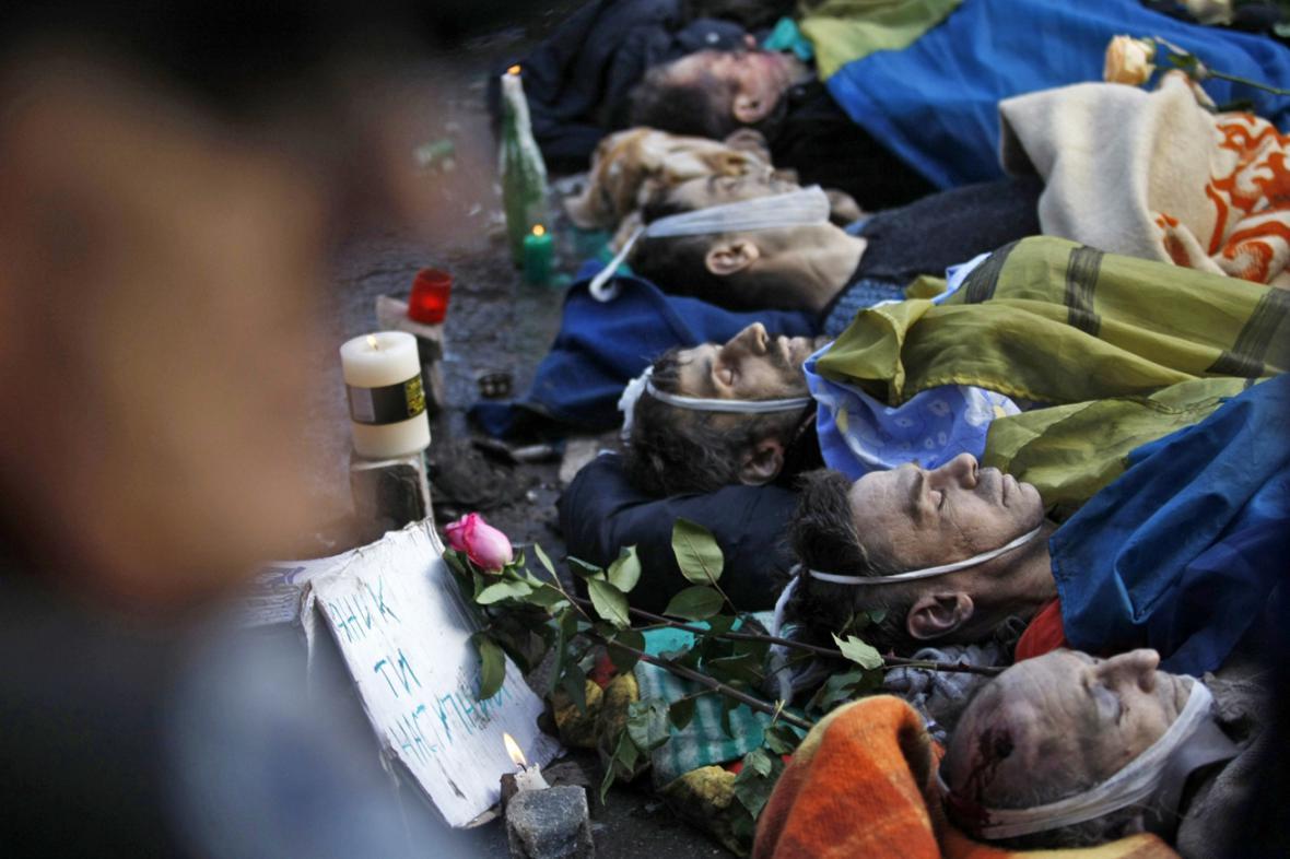 Oběti z kyjevského Majdanu