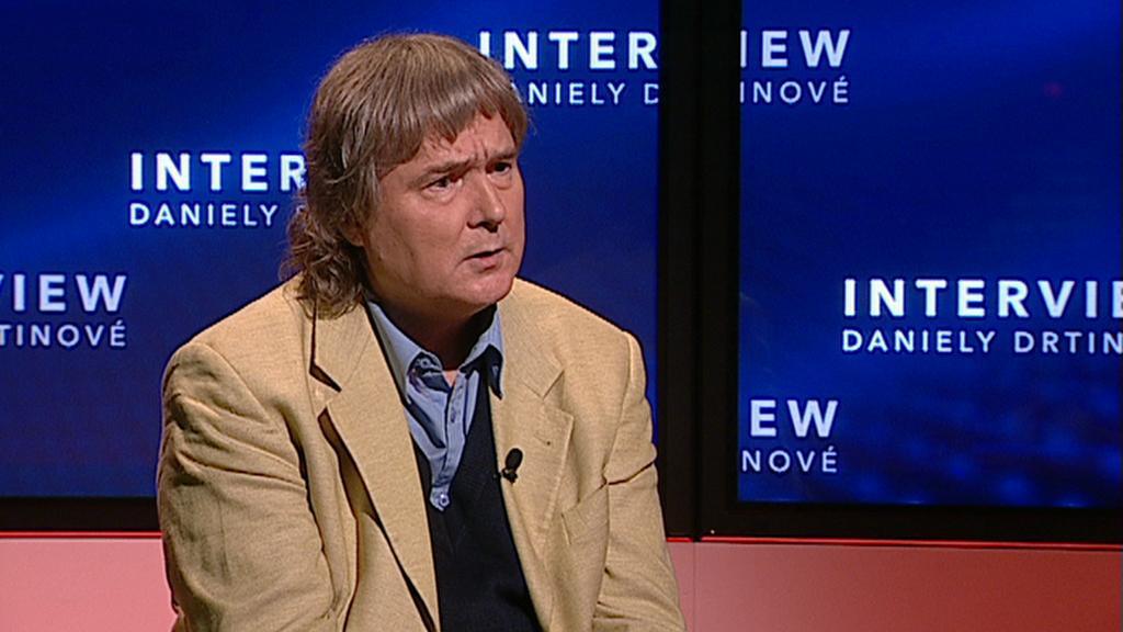 Petr Cibulka, předseda strany Volte Pravý Blok