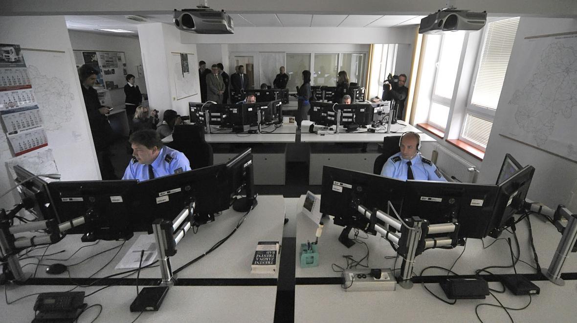 Zmodernizované krajské operační středisko v Jihlavě