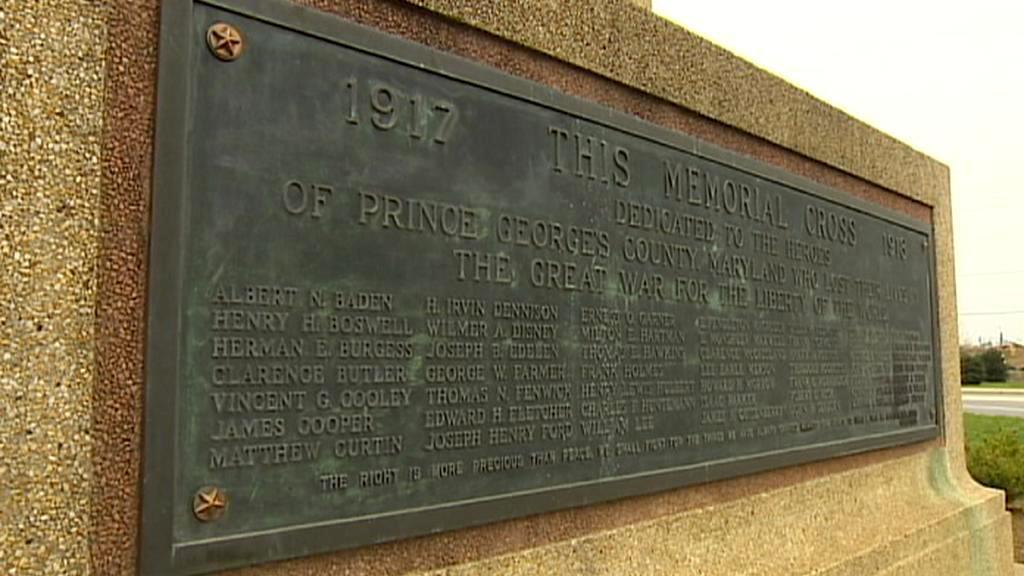 Památník vojákům z první světové války v Bladensburgu