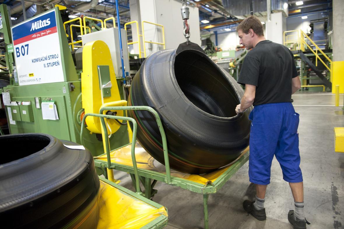 Výrobce pneumatik Mitas