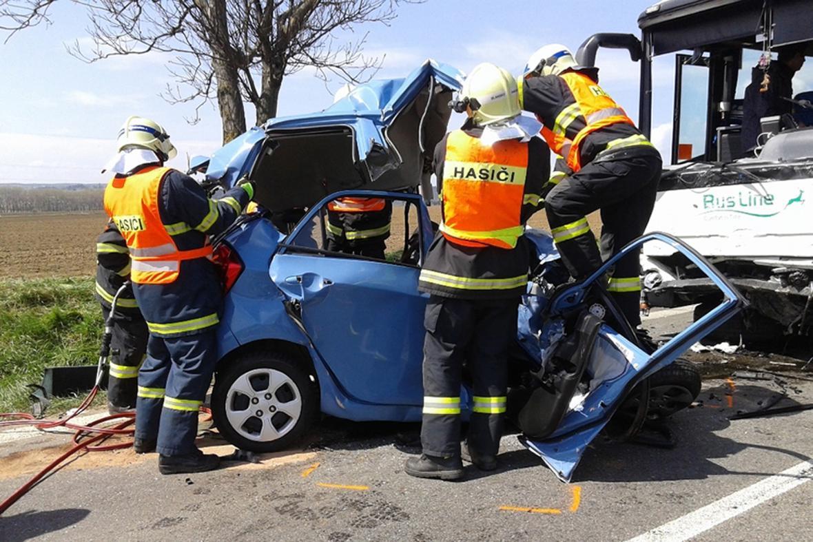 Tragická nehoda u Bořitova na Blanensku