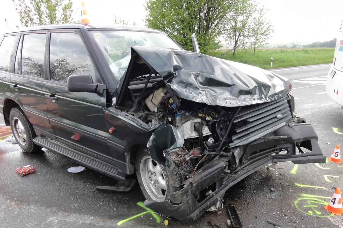 Nehoda u Rohatce na Hodonínsku