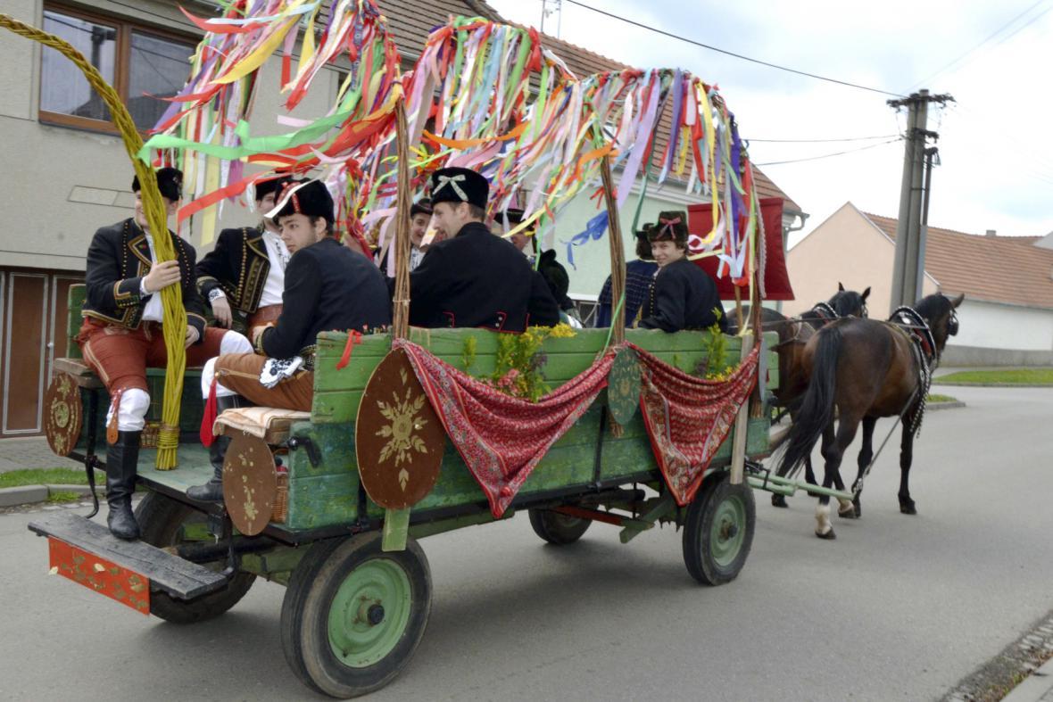Velikonoční zvyky na Hané