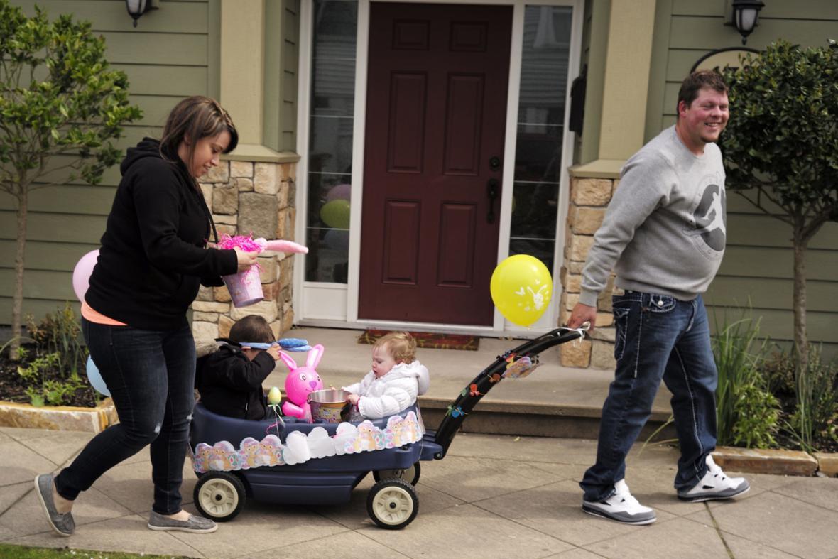 Velikonoční rodinná procházka ve Vancouveru