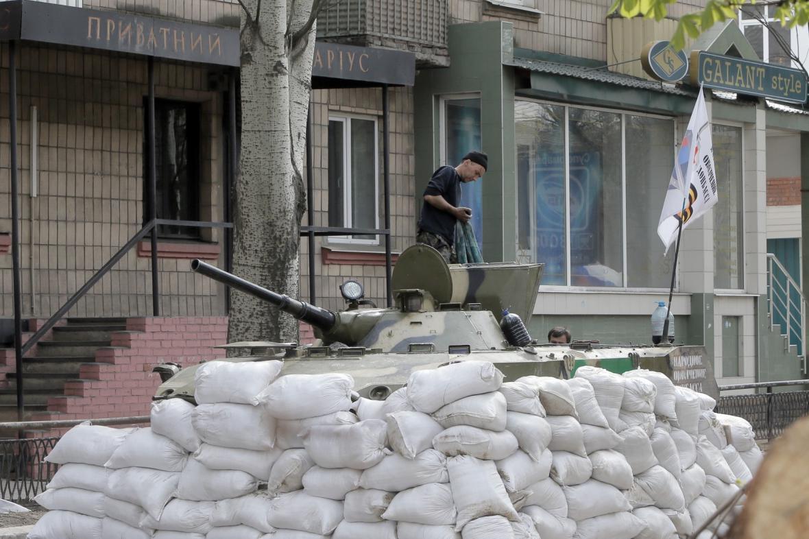 Separatisté ve Slavjansku