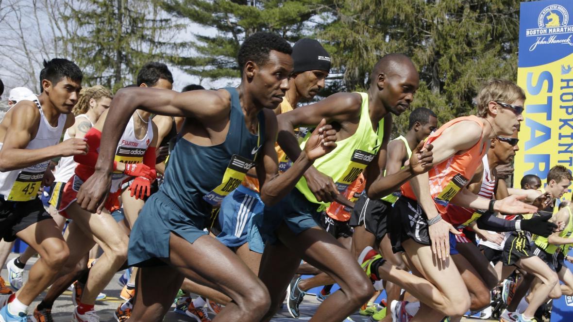 První maraton v Bostonu po loňském teroristickém útoku