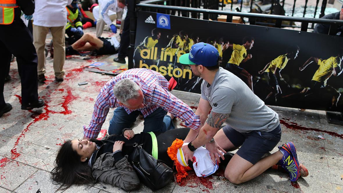 Útok na maratonu v Bostonu