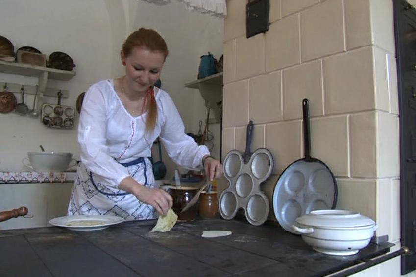 Na Bítově dnes vařili staročeská jídla