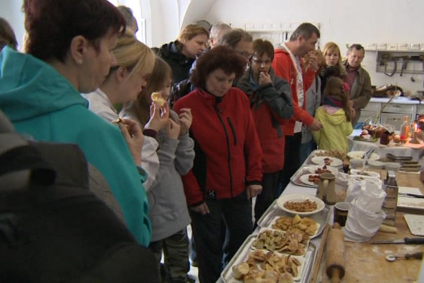 Návštěvníci mohli připravené pokrmy ochutnat