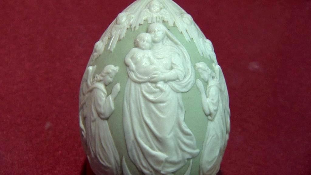 Ruská porcelánová velikonoční vejce