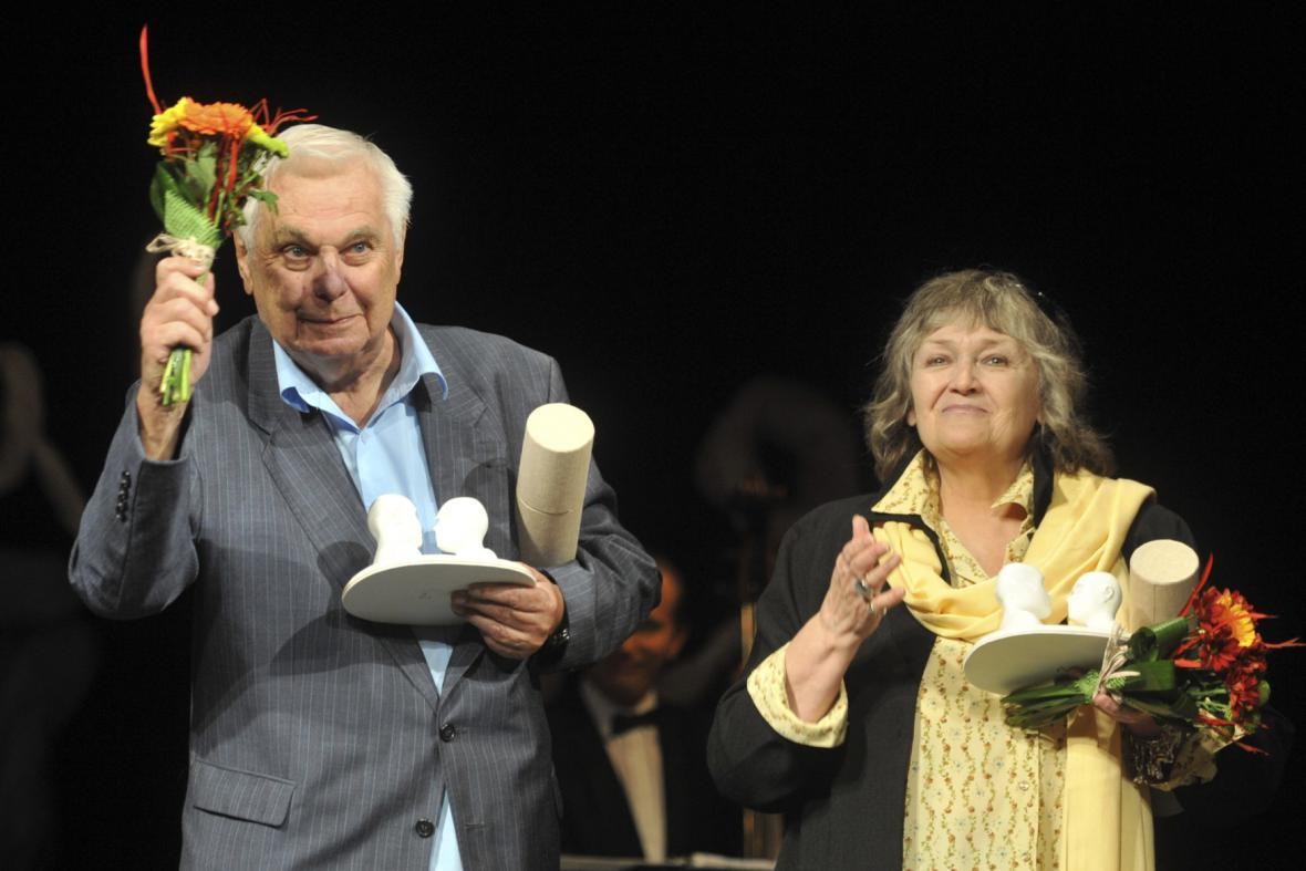 Antonín Molčík a Hana Talpová