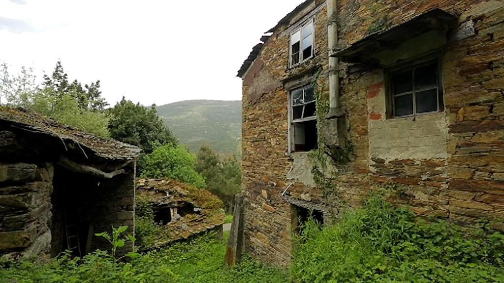 Opuštěné španělské vesnice
