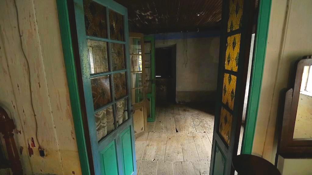 Opuštěné španělské domy