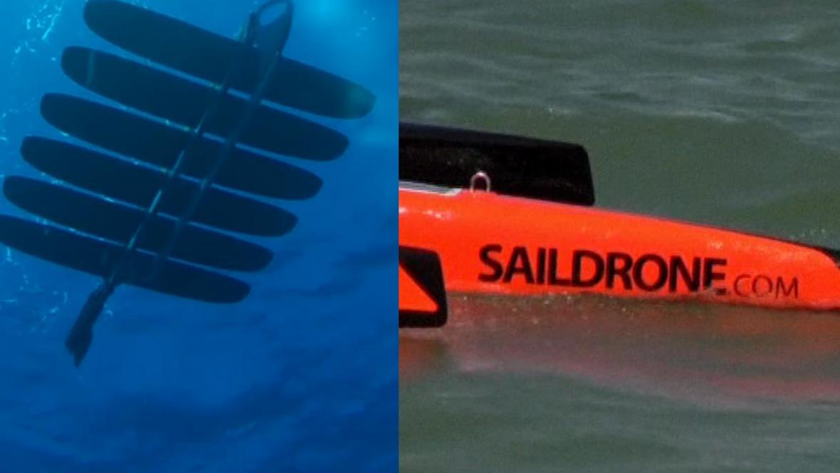 Wave Glider a Saildrone