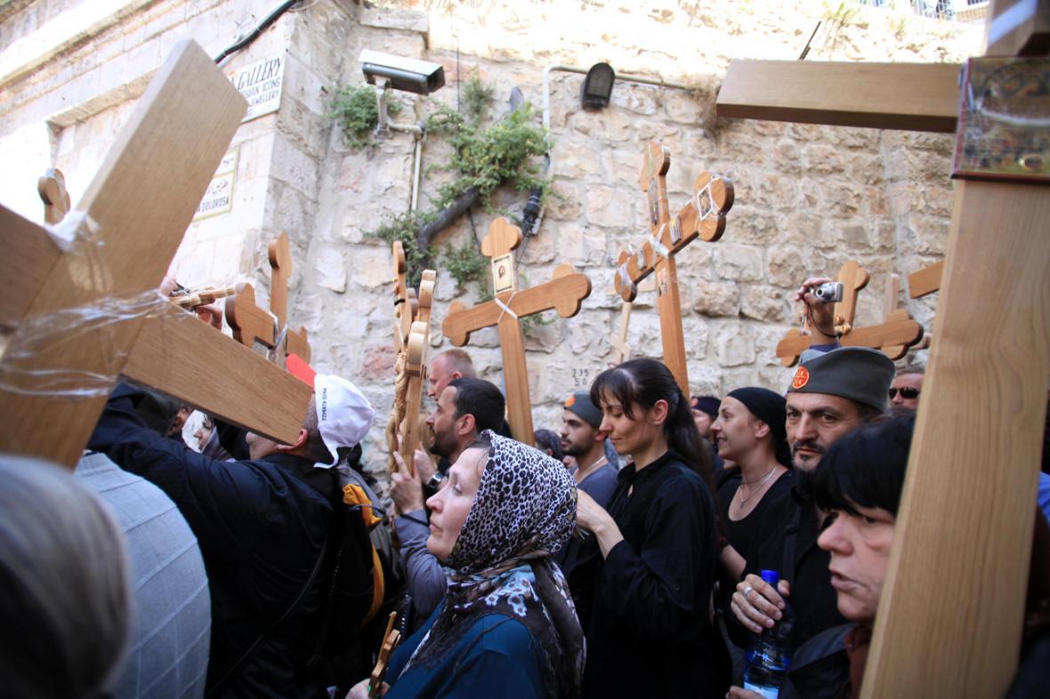 Křížová cesta v Jeruzalémě