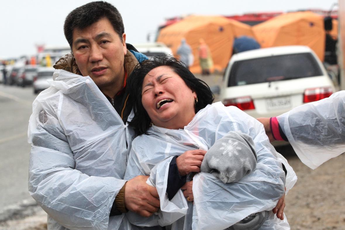 Ztroskotání jihokorejského trajektu si vyžádalo mrtvé