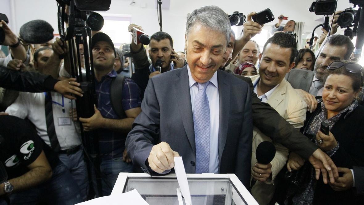 Prezidentský kandidát Alí Benflís