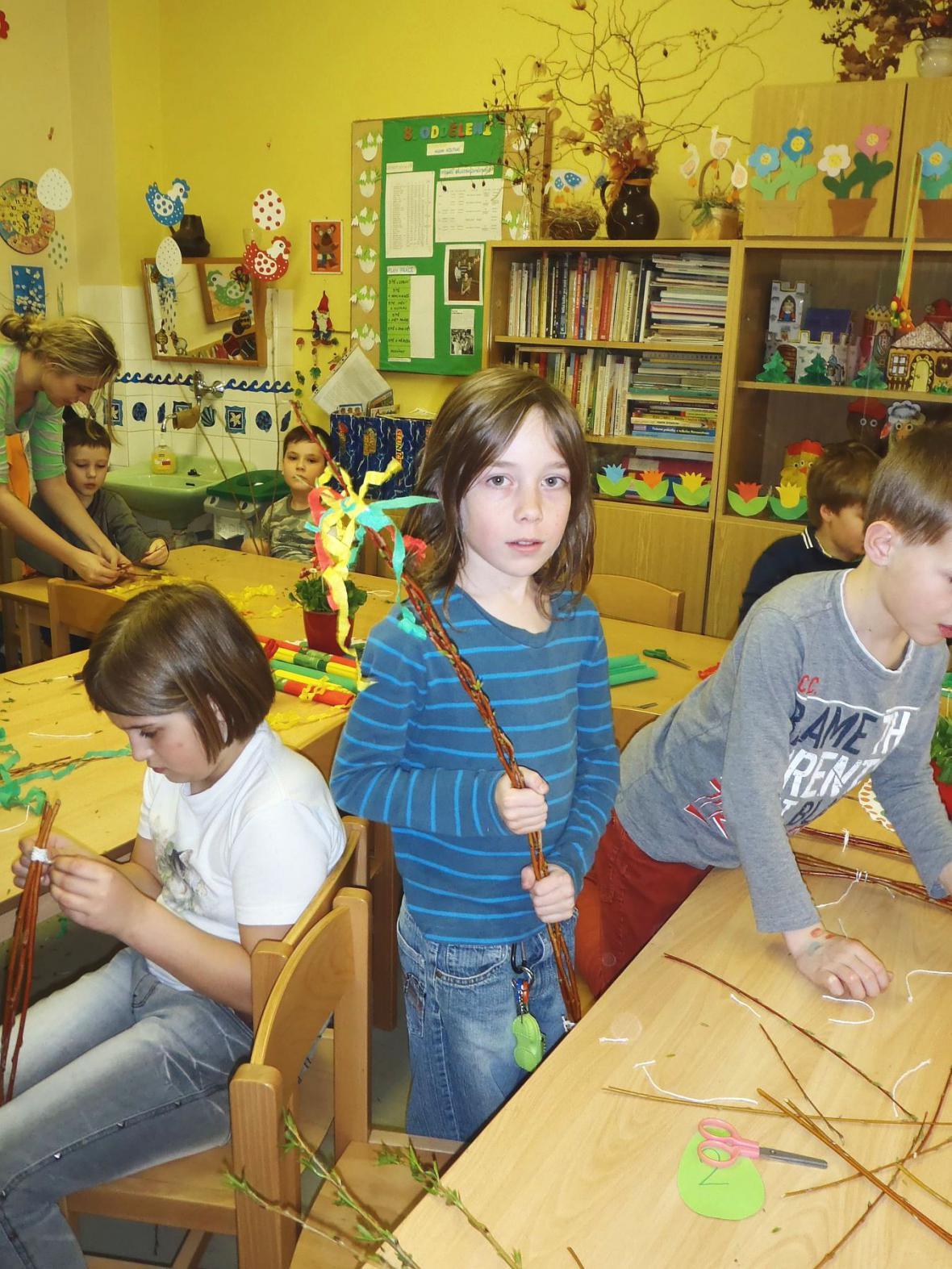 Svátky jara ve školní družině Slovákova