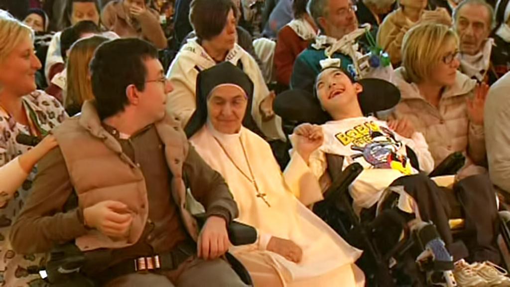 Pacienti zdravotnického centra Panny Marie od Božské Prozřetelnosti