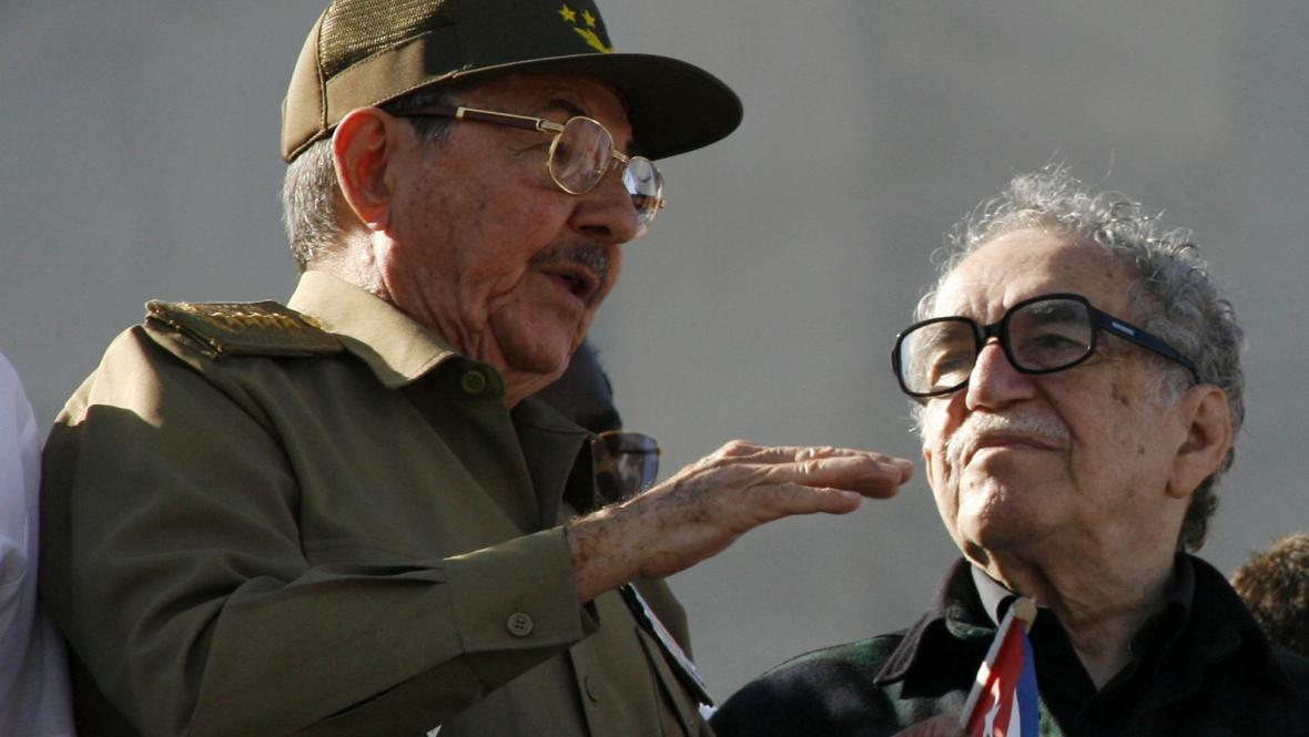 Gabriel García Márquez a Raúl Castro