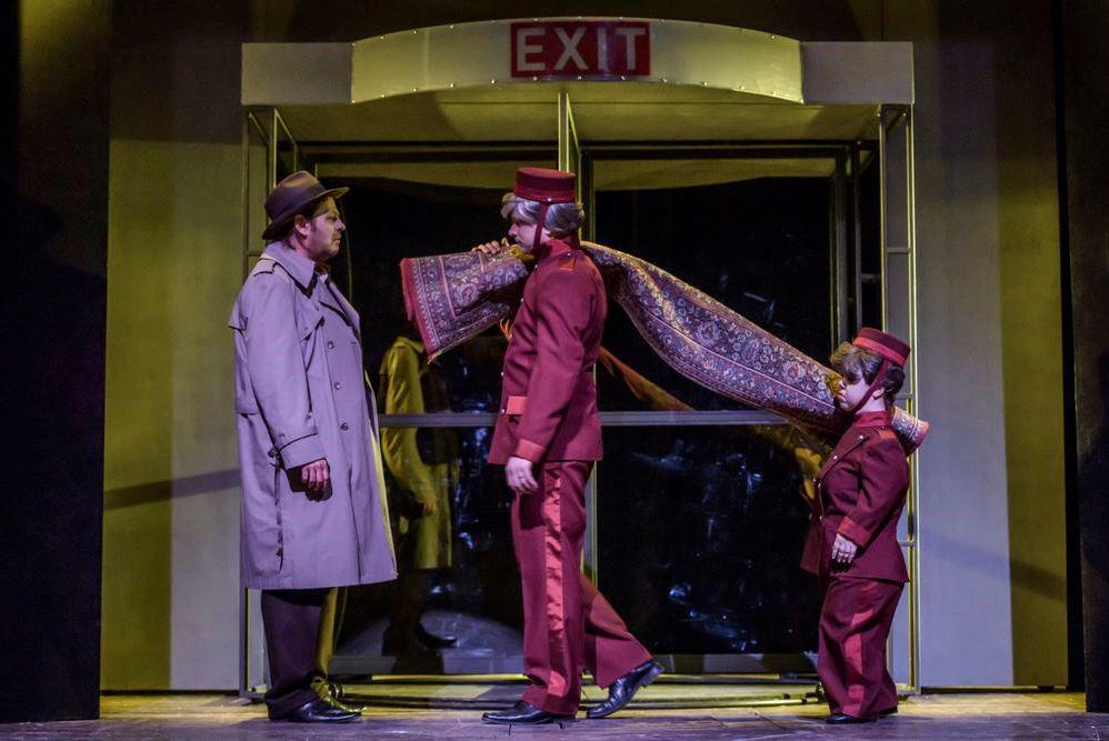Šílenství v Divadle Na zábradlí