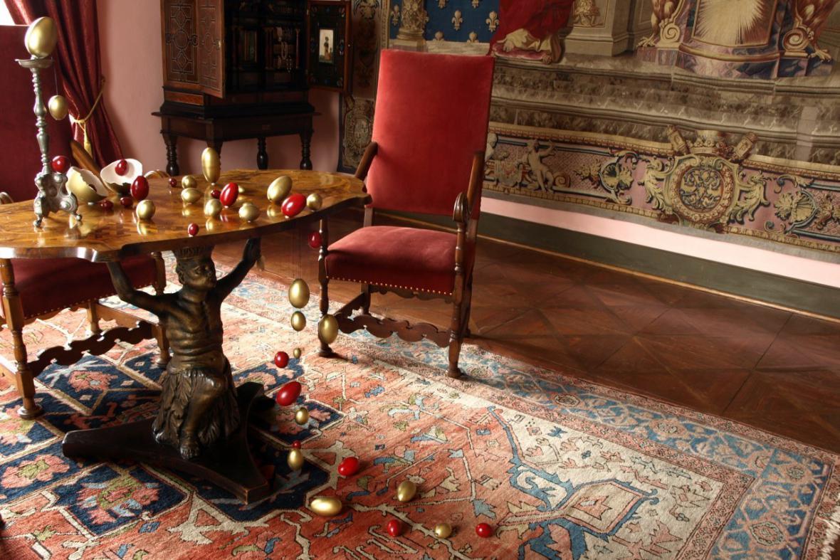 Splašená vejce na hradě a zámku Jindřichův Hradec