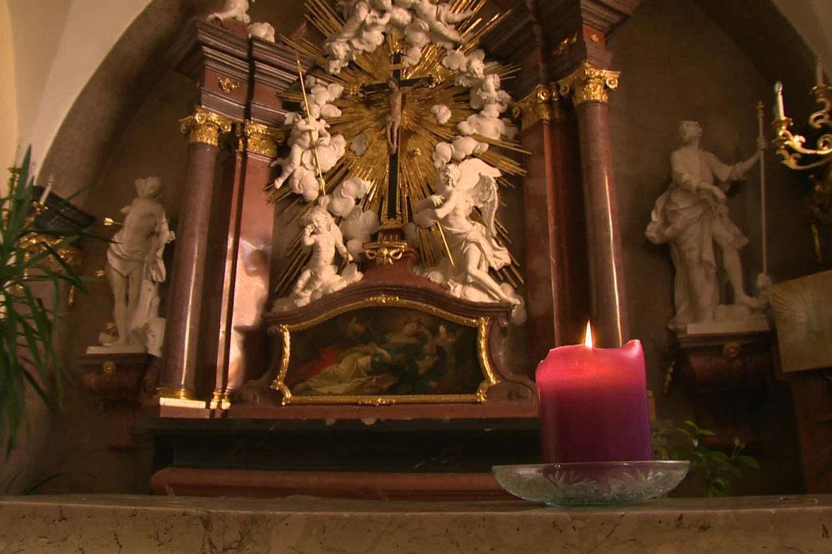 I kostely se připravují na Velikonoce