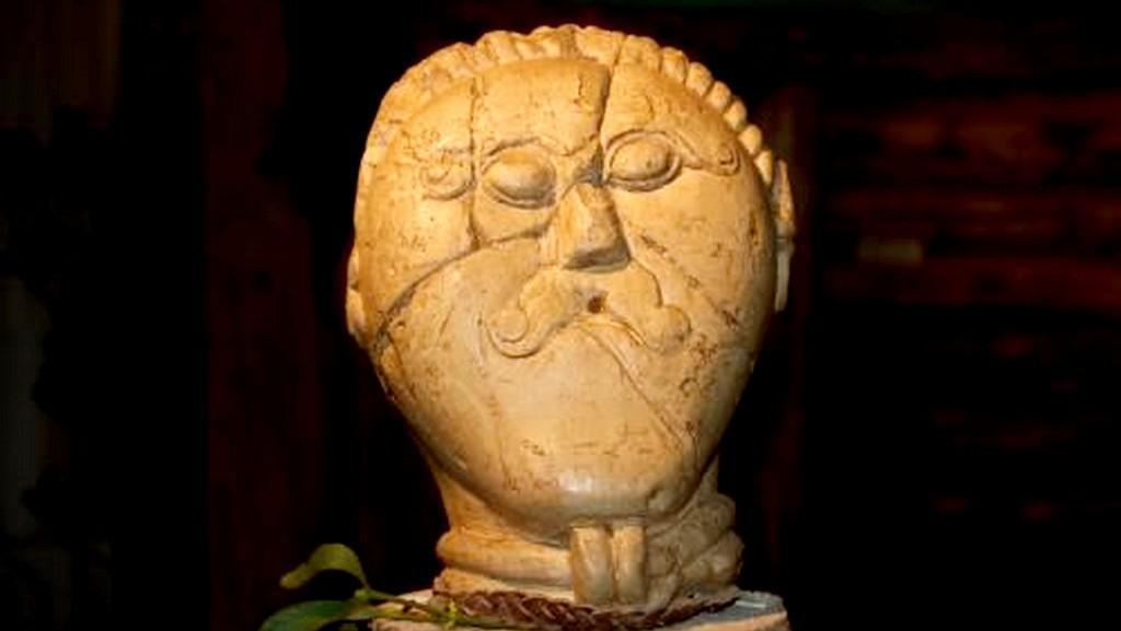 Opuková hlava Kelta z Mšeckých Žehrovic