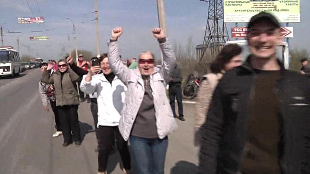 Proruský východ Ukrajiny vítá údajné dezertéry