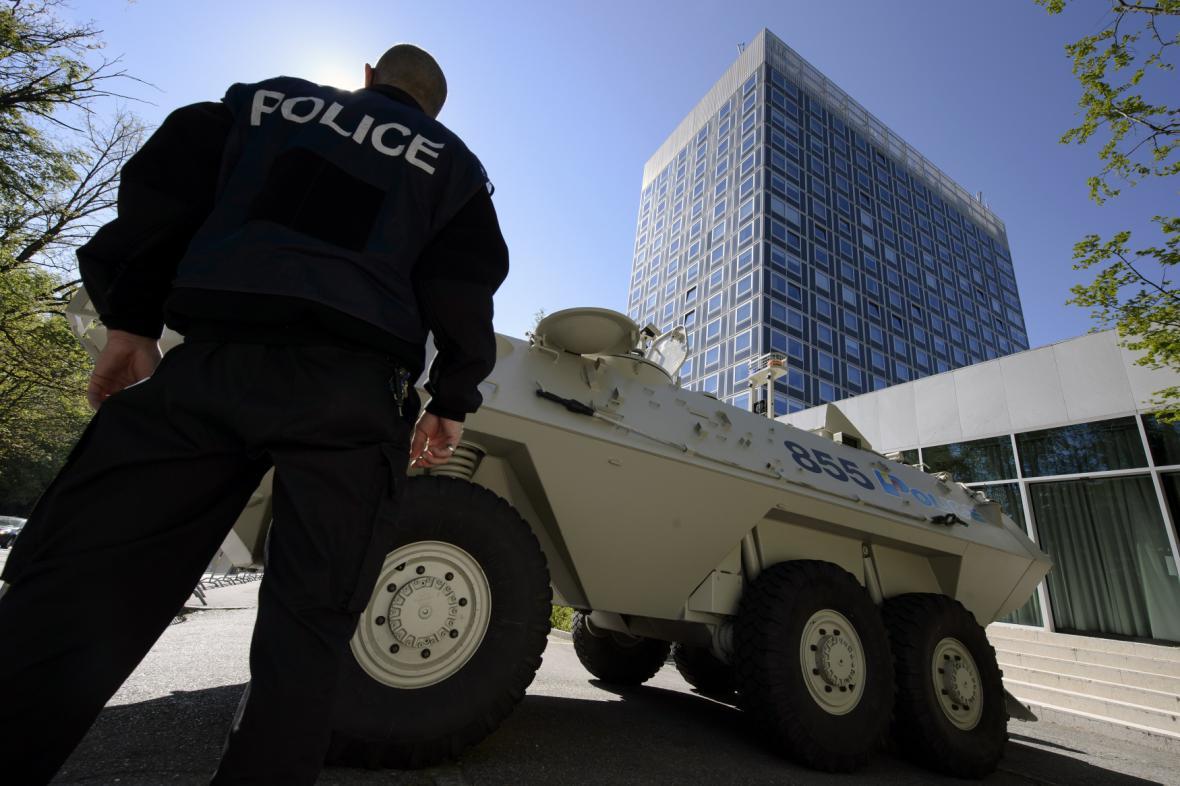 Policie v Ženevě