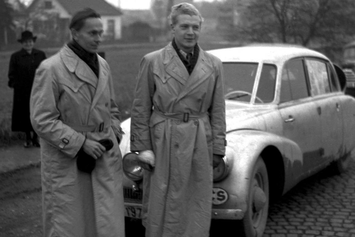 Miroslav Zikmund (vlevo) a Jiří Hanzelka