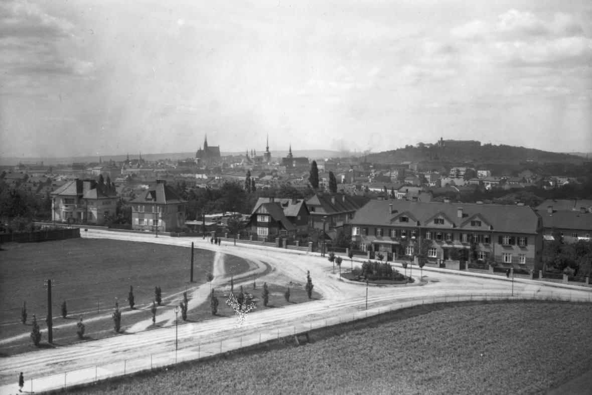 Brno v roce 1930