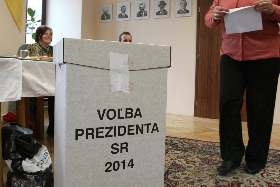 Slováci volí nového prezidenta