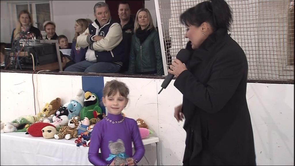 Na brněnských Velikonocích na ledě zazpívala i Dáda Patrasová