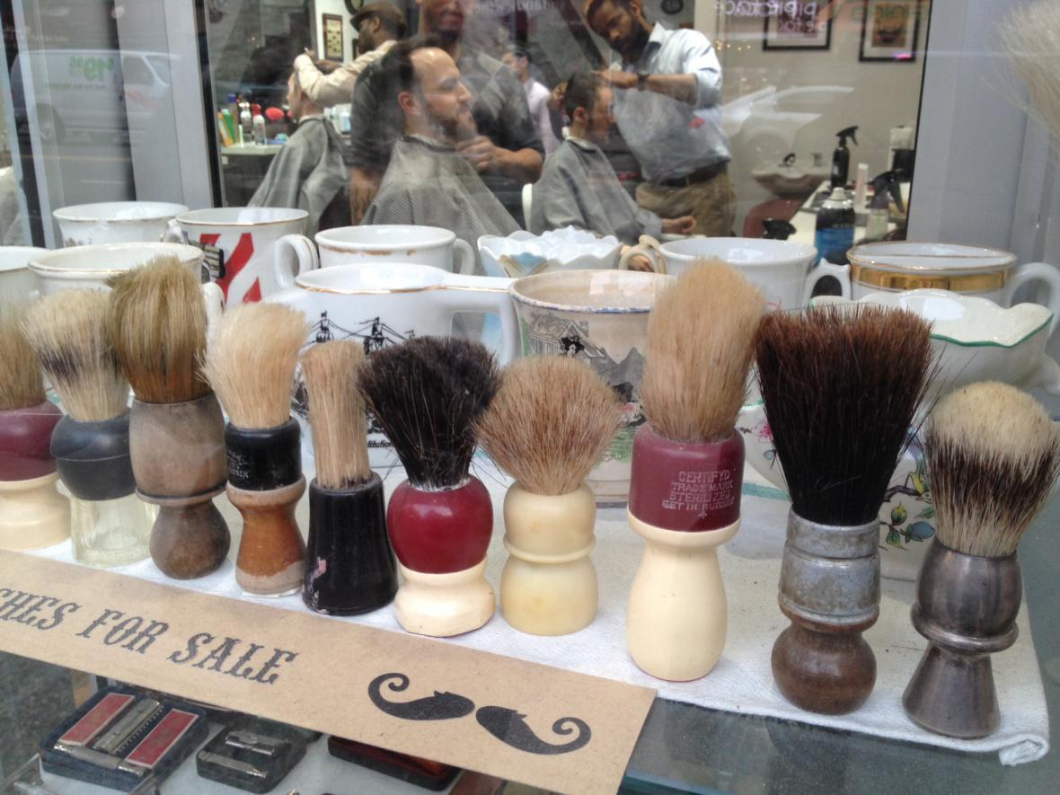 Vybavení pánského holičství