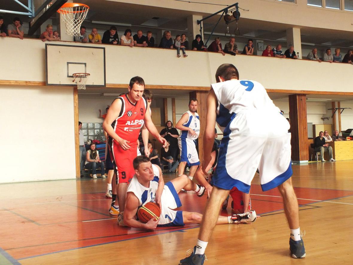 Basketbalový zápas v Boskovicích