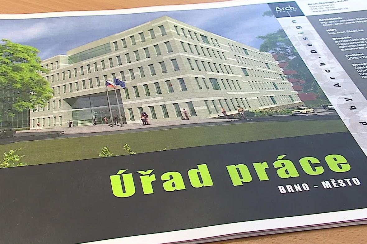 Podoba nového úřadu práce v Brně