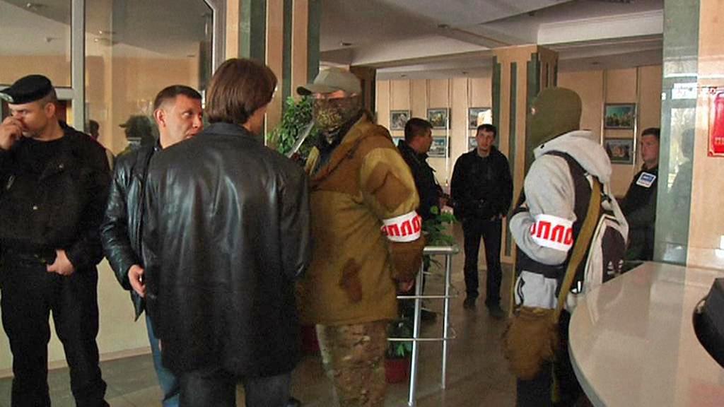 Separatisté obsadili radnici v Doněcku
