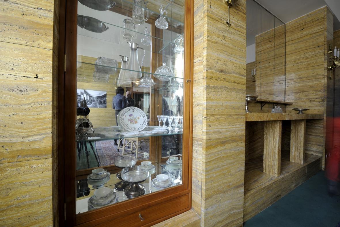 Loosův interiér v Klatovské 12