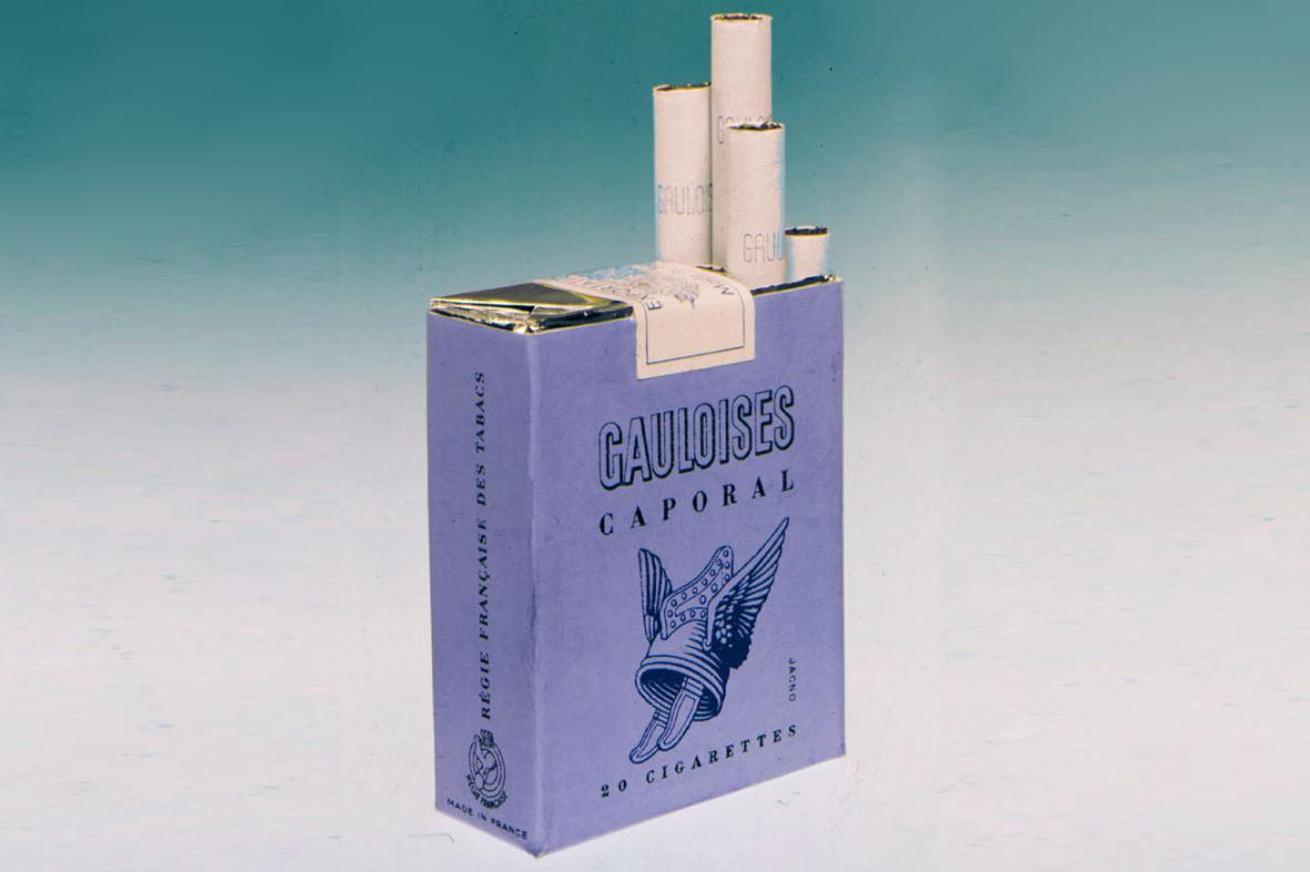 Klasické cigarety Gauloises