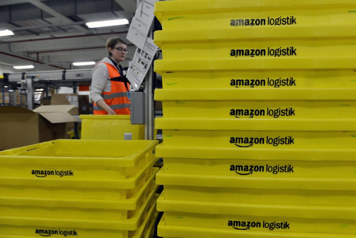 Zásilkové centrum americké společnosti Amazon
