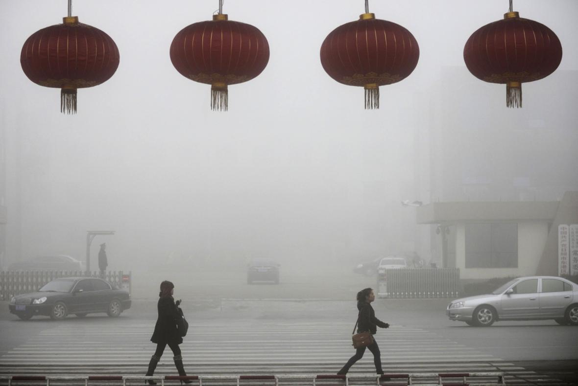 Smog - ilustrační foto