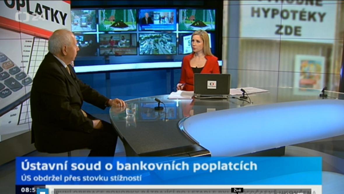 Vysílání ČT 24 z Brna