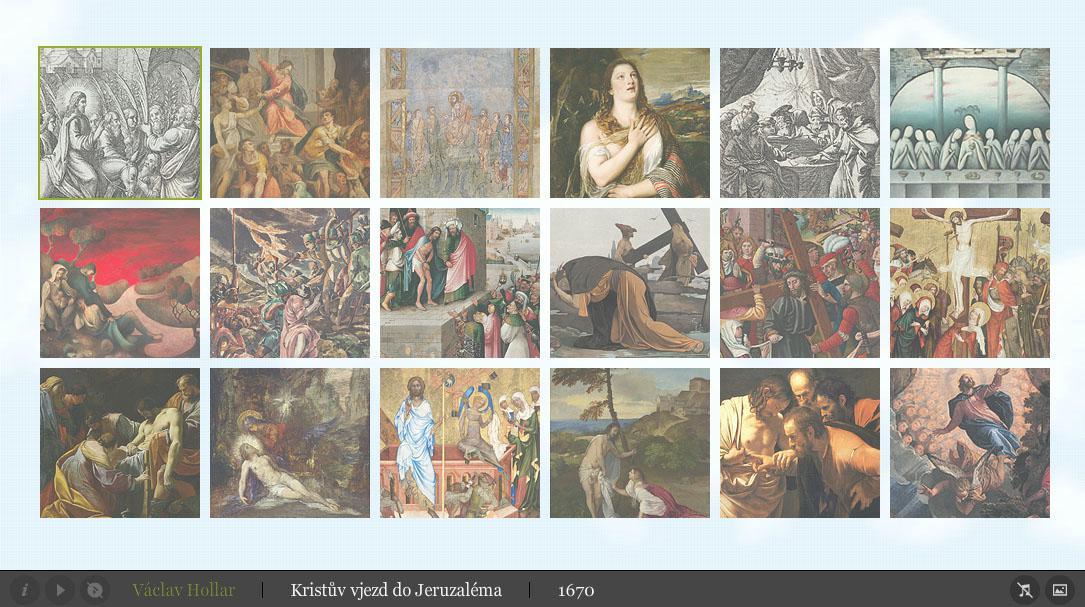 Velikonoční kalendář: Galerie
