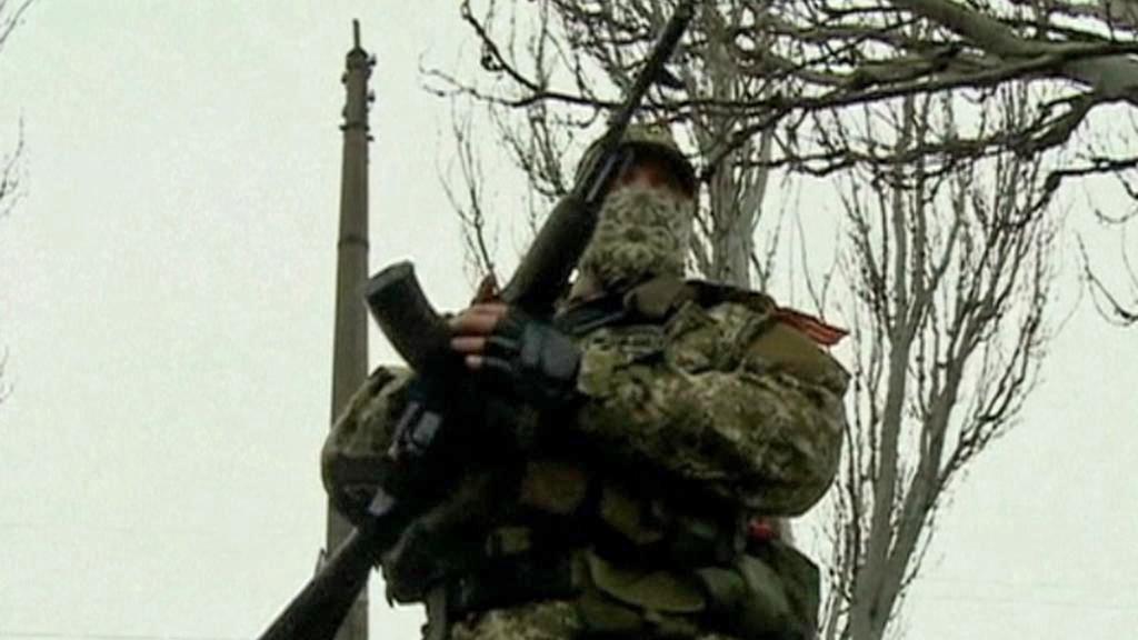 Ruští separatisté na Ukrajině