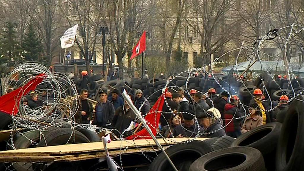 Protesty na východě Ukrajiny