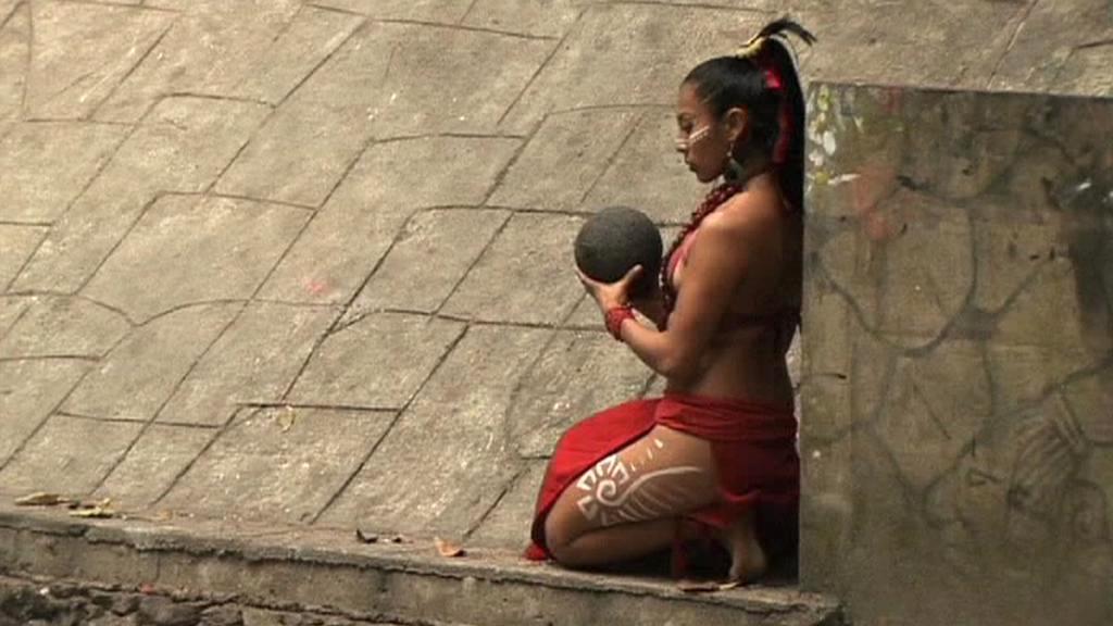 Mayský rituál